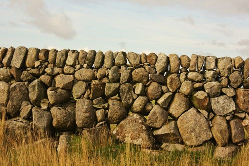"""""""Dry stone wall, Island of Mull"""". Photo by Jan Smith, CC-BY 2.0"""